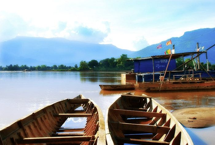 River Life in southen Laos is as traiditional as it gets. Photo by South Laos Photography