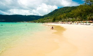 Patong Beach the largest and most popular of Phukets beaches. photo via travelchannel
