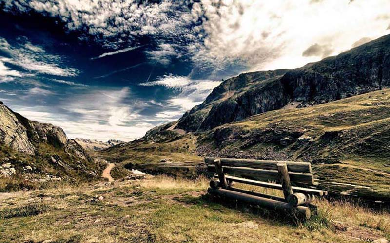 Bench with incredible views