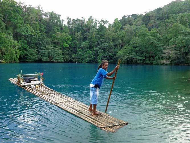 Take a lazy ride on a raft. Photo via Maria Massoni