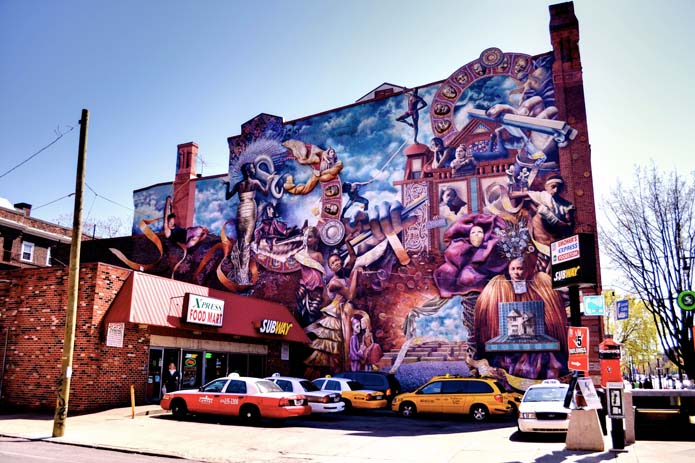 Amazing street art in Philadelphia, USA. Photo by wperegoy.files.wordpress.com