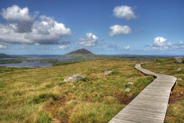 The Connemara National Park offers 2900 hactares of majesty. Photo by LordSaddler