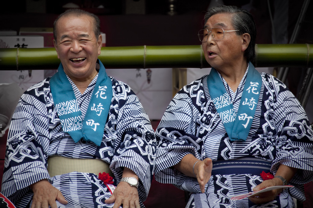 Laughter holds a slightly different meaning in Japan to the West. Photo by Aaron Shumaker, Flickr