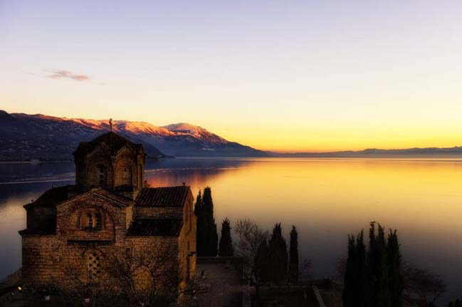 Lake Ohrid is one of Europes deepest and oldest lakes. Photo by Katina Scarbrough