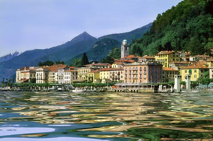 Bellagio, the beautiful town on the Lake. Photo via Panoramio