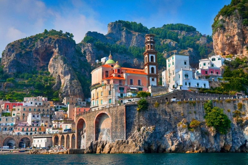 The town of Amalfi has an incredible cultural background. Photo via flickr