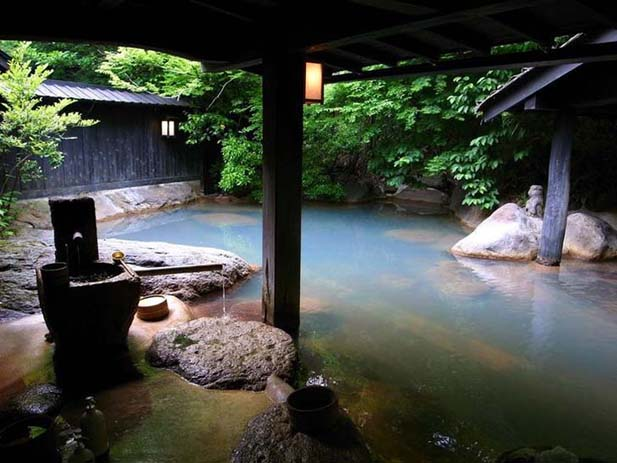 Shizuoka Springs in Japan. Photo via pinimg