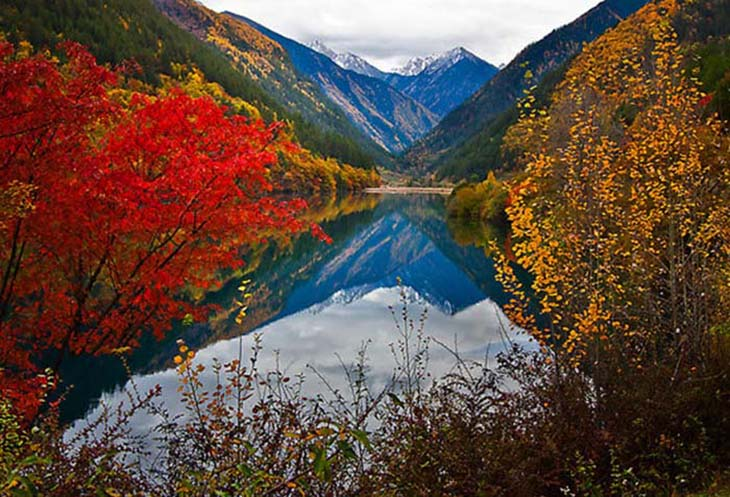 Autumn has an amazing affect on the scenery. Photo via www.redbubble.com