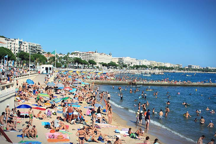 Cannes, wild city, playground of the rich and famous. Photo via shedexpedition