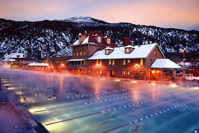 Glenwood Hot Springs, largest natural hot spring