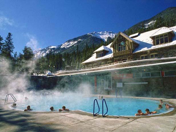 Banff Upper Hot Springs. Photo via pleiadesmassage