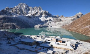 The Gokyo valley in the Everest Region. Photo via worldwanderingkiwi