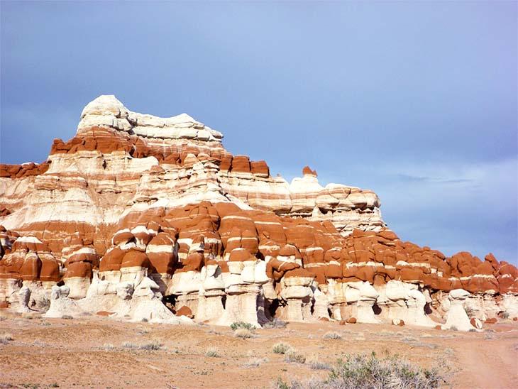 The Stunning Blue Canyon. Photo via americansouthwest