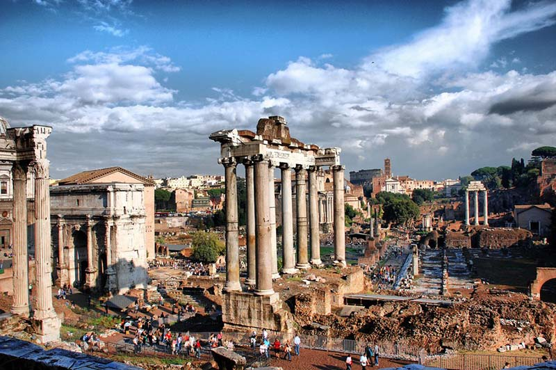 The Foro Romano, such magnificent ruins cannot be missed