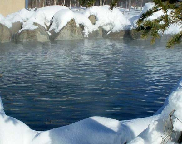 Chena Hot Springs Resort. Photo via flickr