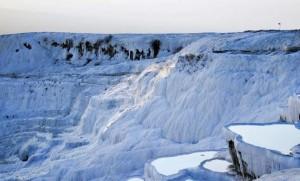 Winter in Pamukkale. Photo by Ian Wui