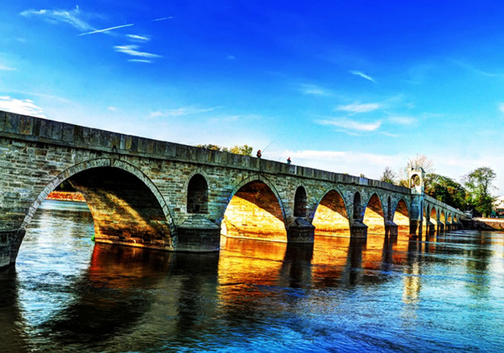 The edirne bridge is just one part of the rich old world culture of the town. Photo by Eren Senturk