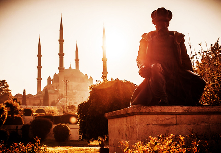 Edirne town is a cultural hub seperated from the chaos of Istanbul. Photo by Tatyana Levitskaya
